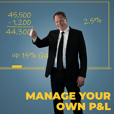 Manage your own p and l
