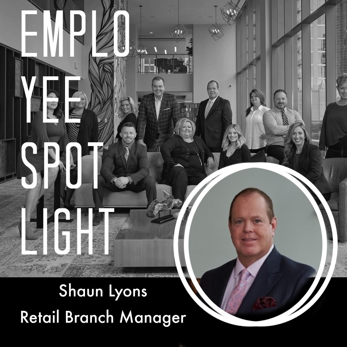 Employee Spotlight of Shaun Lyons
