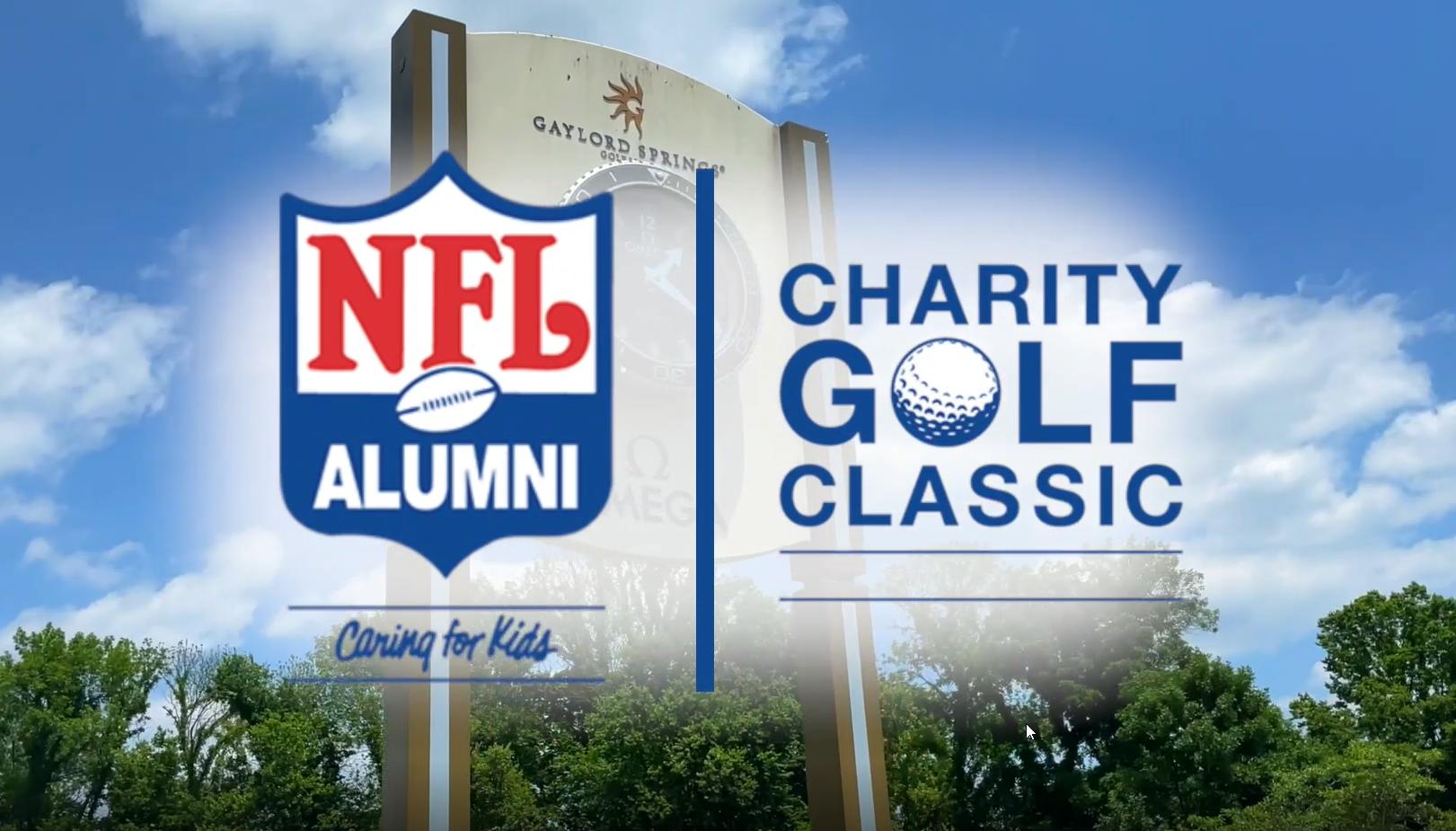 NFL Alumni Charity Golf Classis Logos
