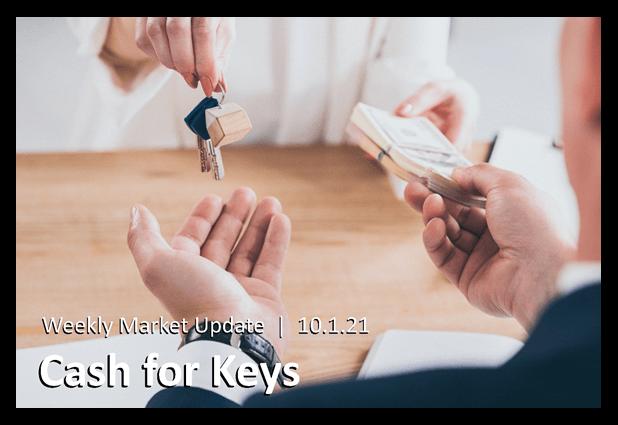 Cash for Keys Cover - man exchanging cash for keys