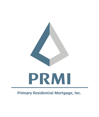 Primary Residential Mortgage, Inc. logo in Blue and Silver
